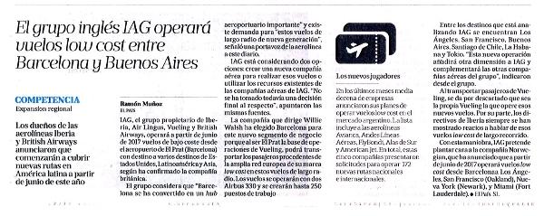 El grupo ingl s iag operar vuelos low cost entre for Vuelos barcelona paris low cost