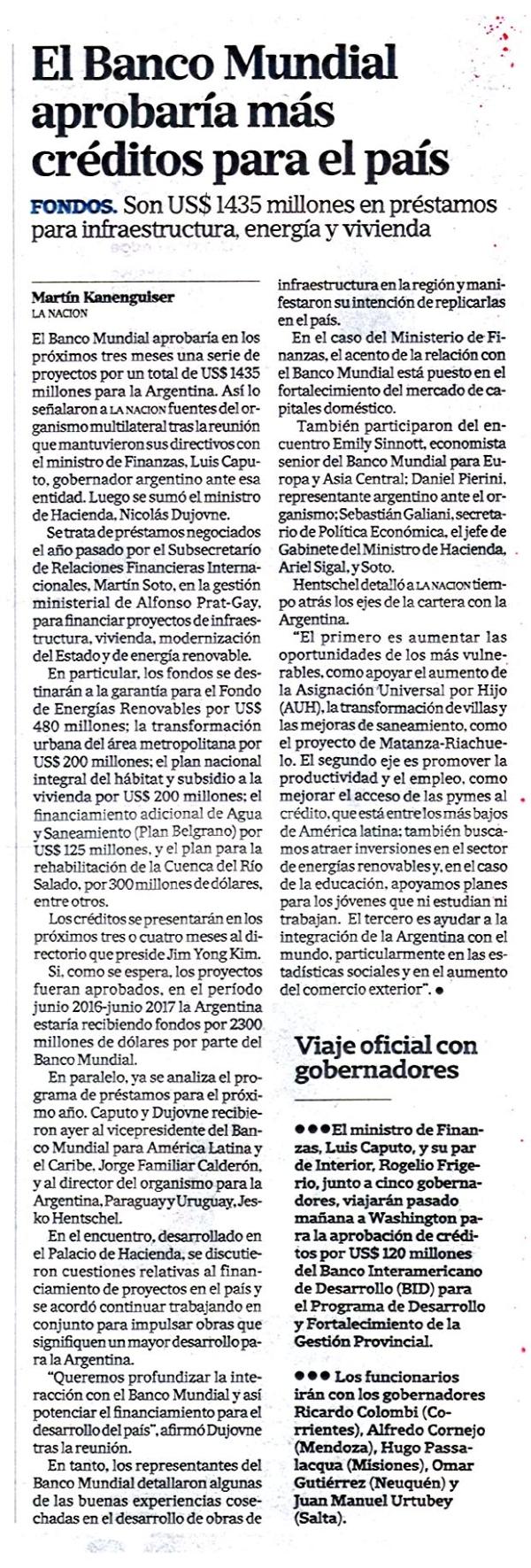 El banco mundial aprobar a m s cr ditos para el pa s for Banco exterior banco universal